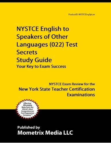 9781614032618: NYSTCE English to Speakers of Other Languages (022) Test Secrets Study Guide: NYSTCE Exam Review for the New York State Teacher Certification Examinations