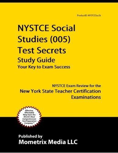 9781614032724: NYSTCE Social Studies (005) Test Secrets Study Guide ...