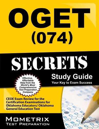 9781614032786: OGET (074) Secrets Study Guide: CEOE Exam Review for the Certification Examinations for Oklahoma Educators / Oklahoma General Education Test
