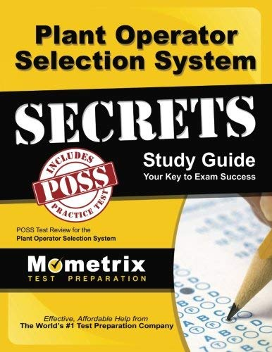 9781614033462: Plant Operator Selection System Secrets Study Guide: POSS Test Review for the Plant Operator Selection System