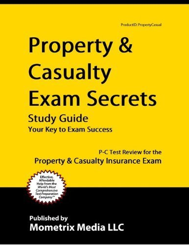 9781614033905: Property & Casualty Exam Secrets Study Guide: P-C Test Review for the Property & Casualty Insurance Exam