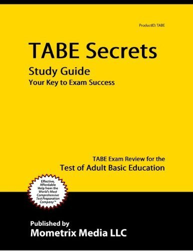 9781614034155: TABE Secrets Study Guide: TABE Exam Review for the Test of Adult Basic Education