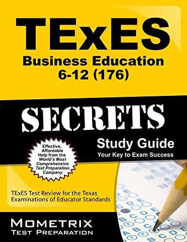 9781614034186: TExES (176) Business Education 6-12 Exam Secrets Study Guide: TExES Test Review for the Texas Examinations of Educator Standards