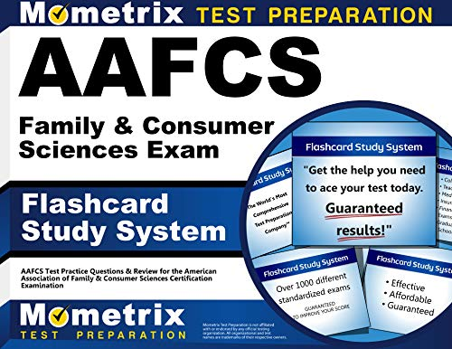 9781614034728: AAFCS Family & Consumer Sciences Exam Flashcard Study System: AAFCS Test Practice Questions & Review for the American Association of Family & Consumer Sciences Certification Examination (Cards)