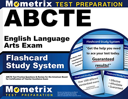9781614034766: ABCTE English Language Arts Exam Flashcard Study System: ABCTE Test Practice Questions & Review for the American Board for Certification of Teacher Excellence Exam (Cards)