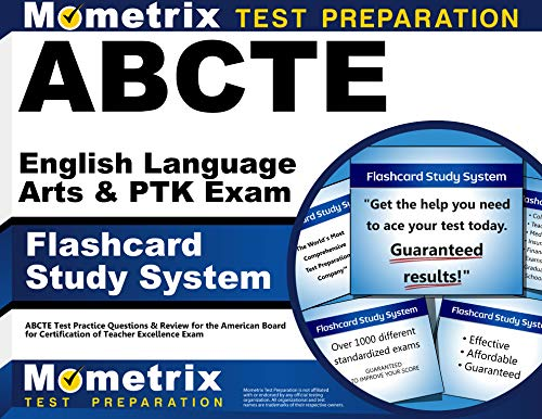 9781614034773: ABCTE English Language Arts & PTK Exam Flashcard Study System: ABCTE Test Practice Questions & Review for the American Board for Certification of Teacher Excellence Exam (Cards)