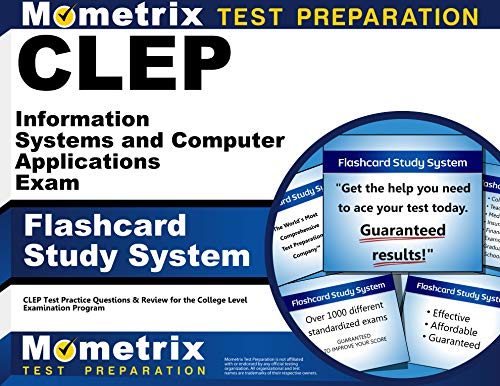 9781614035015: CLEP Information Systems and Computer Applications Exam Flashcard Study System: CLEP Test Practice Questions and Review for the College Level Examinat