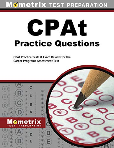 9781614035121: CPAt Practice Questions: CPAt Practice Tests & Exam Review for the Career Programs Assessment Test