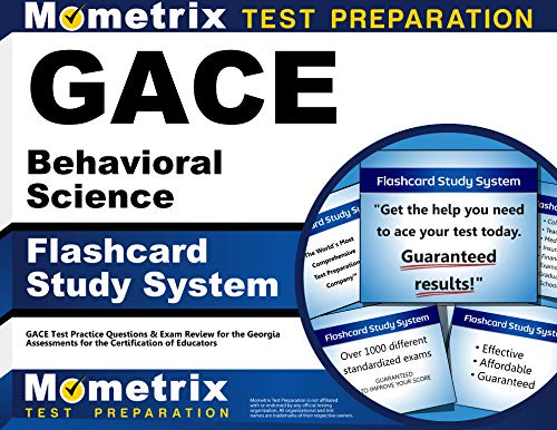 9781614035497: GACE Behavioral Science Flashcard Study System: GACE Test Practice Questions & Exam Review for the Georgia Assessments for the Certification of Educators (Cards)