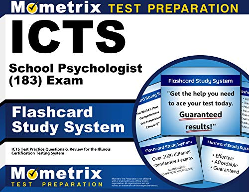 9781614035725: ICTS School Psychologist (183) Exam Flashcard Study System: ICTS Test Practice Questions & Review for the Illinois Certification Testing System (Cards)