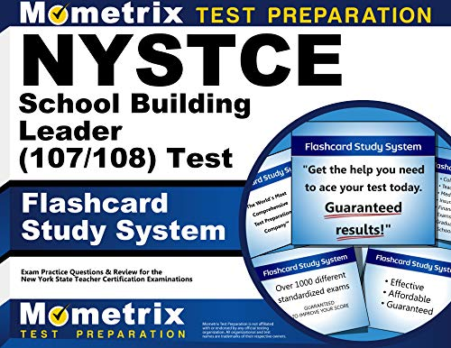9781614036241: Nystce School Building Leader (107/108) Test Flashcard Study System: Nystce Exam Practice Questions and Review for the New York State Teacher Certific