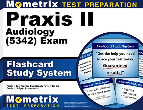 9781614036999: Praxis II Audiology (5342) Exam Flashcard Study System: Praxis II Test Practice Questions & Review for the Praxis II: Subject Assessments (Cards)