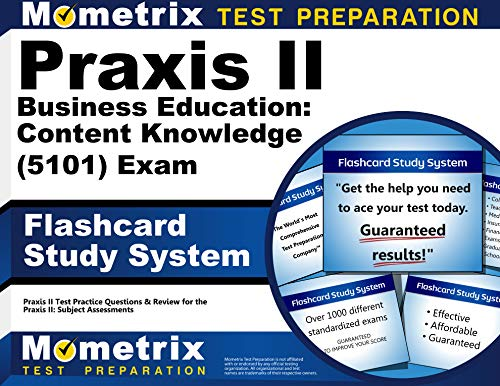 9781614037002: Praxis II Business Education: Content Knowledge (5101) Exam Flashcard Study System: Praxis II Test Practice Questions & Review for the Praxis II: Subject Assessments (Cards)