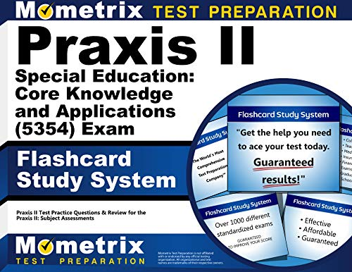 9781614037132: Praxis II Special Education: Core Knowledge and Applications (5354) Exam Flashcard Study System: Praxis II Test Practice Questions & Review for the Praxis II: Subject Assessments (Cards)