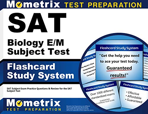 9781614037231: SAT Biology E/M Subject Test Flashcard Study System: SAT Subject Exam Practice Questions & Review for the SAT Subject Test (Cards)
