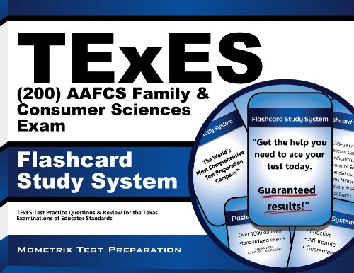 9781614037408: TExES AAFCS Family & Consumer Sciences (200) Flashcard Study System: TExES Test Practice Questions & Review for the Texas Examinations of Educator Standards (Cards)