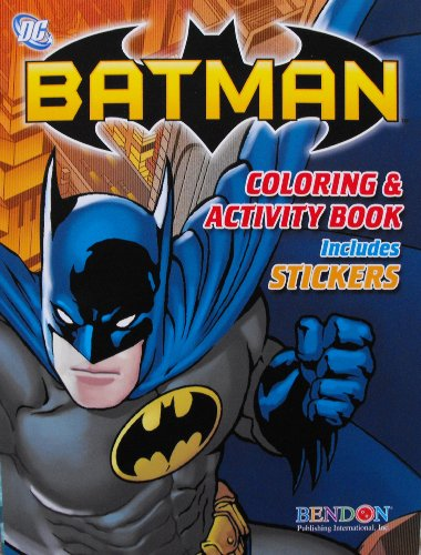 Batman Coloring and Activity Book 144 Page: DC Comics