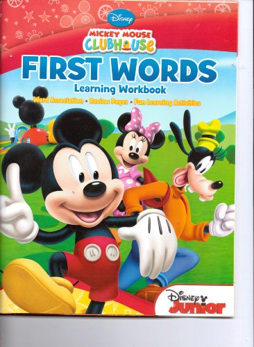 Mickey Mouse Clubhouse First Words Learning Workbook