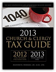 9781614079002: 2013 Church and Clergy Tax Guide (for Tax Year 2012)