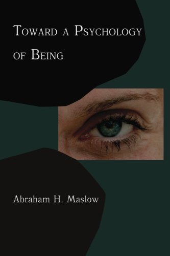 9781614271192: Toward A Psychology of Being: Reprint of 1962 Edition First Edition