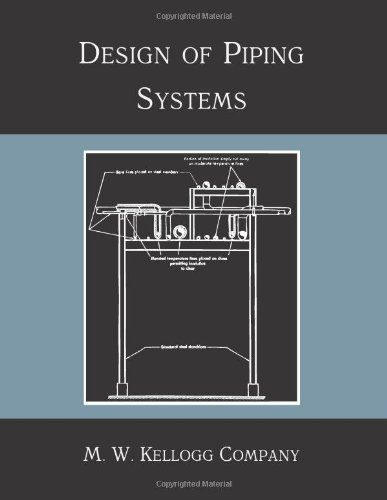 9781614271208: Design of Piping Systems