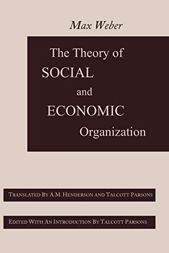 9781614272571: The Theory of Social and Economic Organization