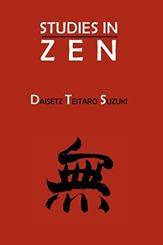 9781614273899: Studies in Zen