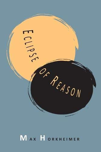 9781614274131: Eclipse of Reason