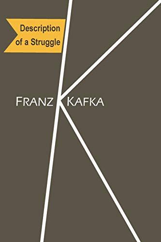 kafka franz - description of a struggle - AbeBooks