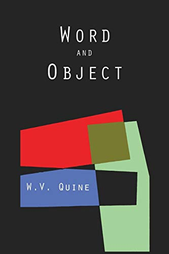 9781614275251: Word and Object (Studies in Communication)