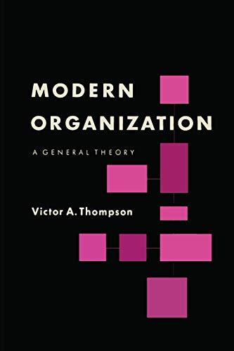 9781614275428: Modern Organization