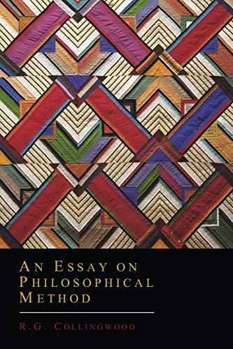 9781614275541: An Essay on Philosophical Method