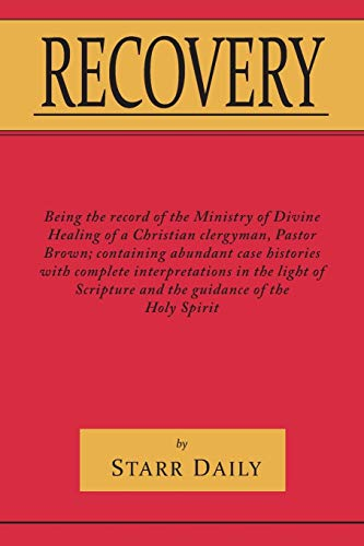 Recovery (Paperback): Starr Daily
