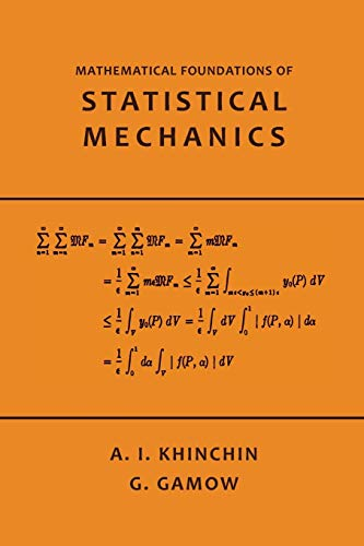 9781614276425: Mathematical Foundations of Statistical Mechanics