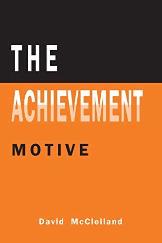 9781614278238: The Achievement Motive