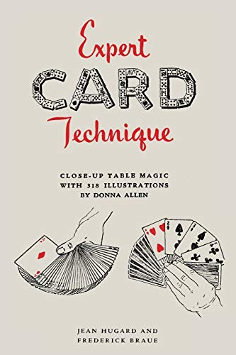 9781614278696: Expert Card Technique: Close-Up Table Magic