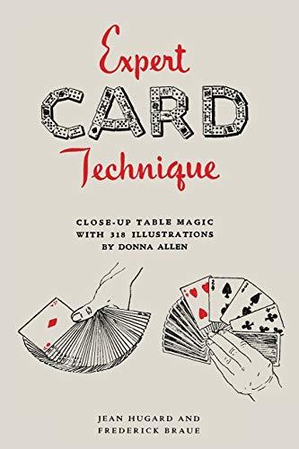 9781614278696: Expert Card Technique: Close-Up Table Magic