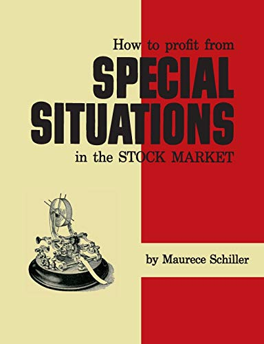 9781614279594: How to Profit from Special Situations in the Stock Market