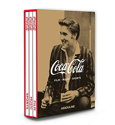 9781614281436: Coca Cola Slipcase Set of 3: Film, Music, Sports (Memoire)