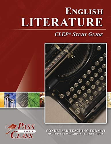 9781614330103: English Literature CLEP Test Study Guide