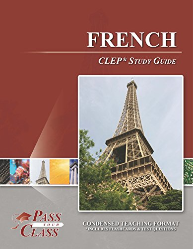 9781614330127: French CLEP Test Study Guide - Passyourclass