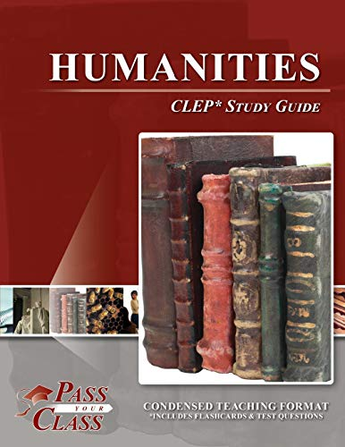 9781614330158: CLEP Humanities Study Guide (Perfect Bound)