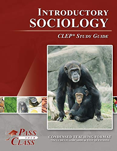 9781614330202: CLEP Introduction to Sociology Study Guide (Perfec