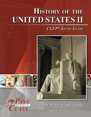 9781614330301: CLEP United States History 2 Study Guide (Perfect Bound)