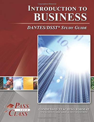 9781614330509: DSST Introduction to Business DANTES Study Guide (Perfect Bound)
