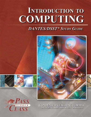 9781614330516: DSST Introduction to Computing DANTES Study Guide (Perfect Bound)