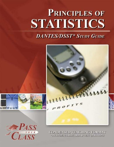 9781614330639: DSST Principles of Statistics DANTES Study Guide (Perfect Bound) [Paperback]