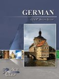 9781614331049: CLEP German Study Guide - Ace the CLEP