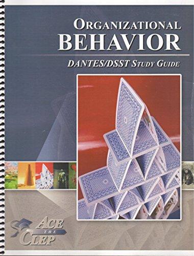 9781614331490: Dsst Organizational Behavior Dantes - Ace the CLEP
