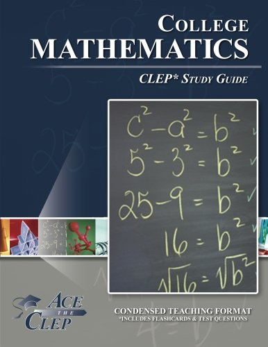 9781614331650: College Mathematics CLEP Study Guide